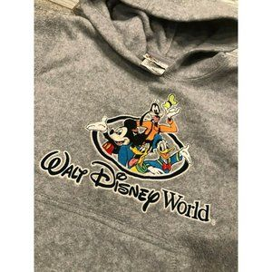 Walt Disney World Hoodie Sweatshirt XS 4 5 Mickey